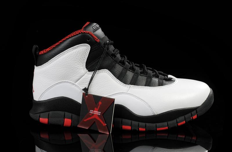 Air Jordan 10 Homme Femme Jordan Le Parfait Chaussure Air Jordan 10 Retro  Pas Cher Noir Blanc Pour Homme