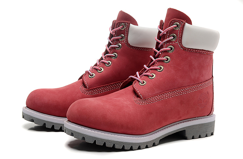 timberland femme rouge foot locker